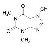 Strukturformel Koffein