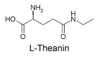 Strukturformel L-Theanin
